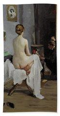 The Painter's Studio, 1896 Hand Towel