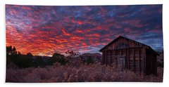 Bath Towel featuring the photograph The Perfect Sunset by Edgars Erglis