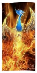 The Phoenix Rises From The Ashes Hand Towel
