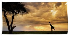 The Plains Of Africa Hand Towel
