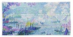 The Port Of Rotterdam - Digital Remastered Edition Hand Towel