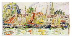 The Pouliguen, Fishing Boats - Digital Remastered Edition Hand Towel