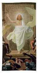 The Resurrection Of Christ By Gebhard Fugel Hand Towel