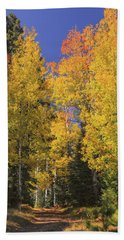 The Road A Little Less Traveled Bath Towel