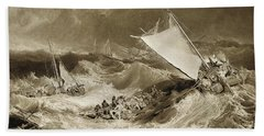 The Ship Wreck, 1807 Hand Towel