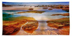 The Silent Morning Tide Bath Towel