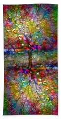 The Souls Of Leaves Bath Towel