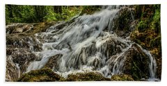The Springs In It's Summer Green, Big Hill Springs Provincial Re Hand Towel