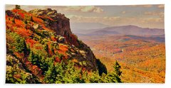 The Summit In Fall Hand Towel