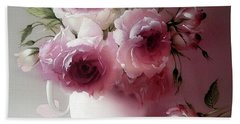 The Tender Fragrance Of Roses Hand Towel