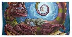 The Third Dream Of A Celestial Dragon Bath Towel