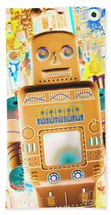 The Transistor Bot Hand Towel