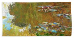 The Water Lily Pond - Digital Remastered Edition Hand Towel