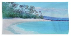 The White Sands Of Hyams Beach Bath Towel