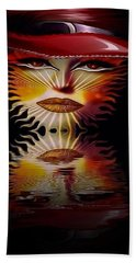 The Wizard Lady Of The Sun Hand Towel