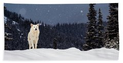 The Wolf Bath Towel