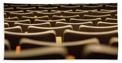 Theater Seats Bath Towel
