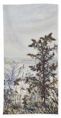 Thistles And Weeds Hand Towel