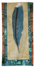 Threaded Feather Hand Towel