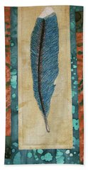 Threaded Feather Hand Towel