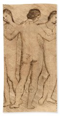 Three Graces - II Hand Towel