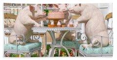 Three Little Pigs And The Birthday Cake Bath Towel