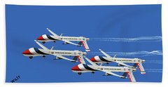 Thunderbird Drones Bath Towel