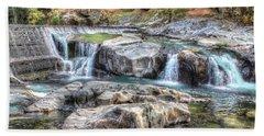 Tiger Creek In Fall #1 Bath Towel