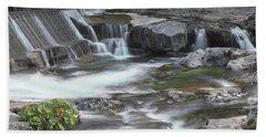Tiger Creek In Fall #2 Bath Towel