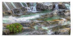 Tiger Creek In Fall #3 Bath Towel