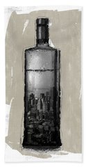Time In A Bottle 1- Art By Linda Woods Bath Towel