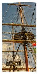 Time To Set Sail Bath Towel