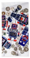 Tin Toy Factory Hand Towel