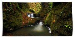 Tire Creek Canyon Bath Towel