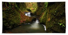 Tire Creek Canyon Hand Towel