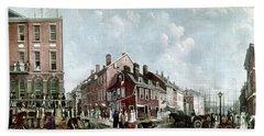 Tontine Coffee House, 1797 Hand Towel