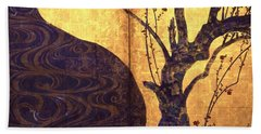 Top Quality Art - Red And White Plum Blossoms #2 Hand Towel
