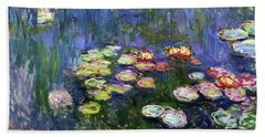 Water Lilies 1916 - Digital Remastered Edition Hand Towel