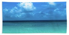 Topical Beach View Anguilla Hand Towel