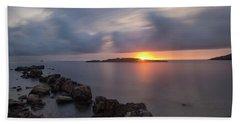 Total Calm In An Ibiza Sunrise Bath Towel