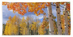 Touch Of Fall Bath Towel