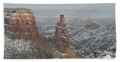 Tower Rock Hand Towel