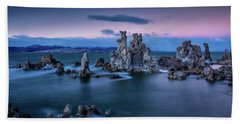 Towers Of Tufa Hand Towel