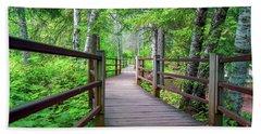 Trail At Gooseberry Falls Bath Towel