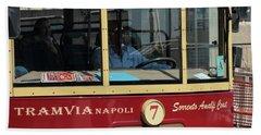 Tram Naples Bath Towel