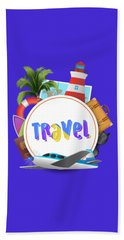 Travel World Bath Towel
