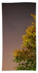 Tree And Stars Bath Towel