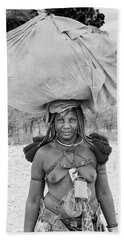 Tribes Portrait Hand Towel