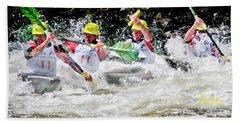 Triple Crown Kayak Race Bath Towel