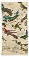Trochilus - Hummingbirds Hand Towel